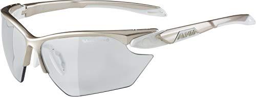 ALPINA Damen Challenge S 2.0 DH Skibrille, Prosecco-White, One Size