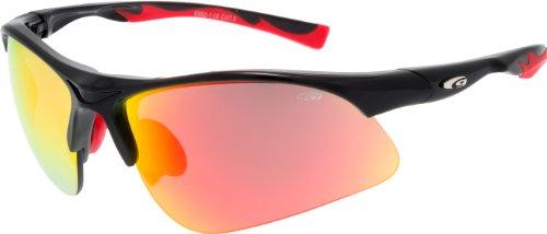 Kinder Radbrille Sportbrille verspiegelt E992-1