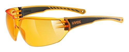 Uvex Erwachsene Sportstyle 204 Sportsonnenbrille, orange, One Size