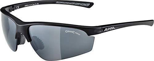 ALPINA Erwachsene Tri-Effect 2.0 Sportbrille, Black matt, One Size