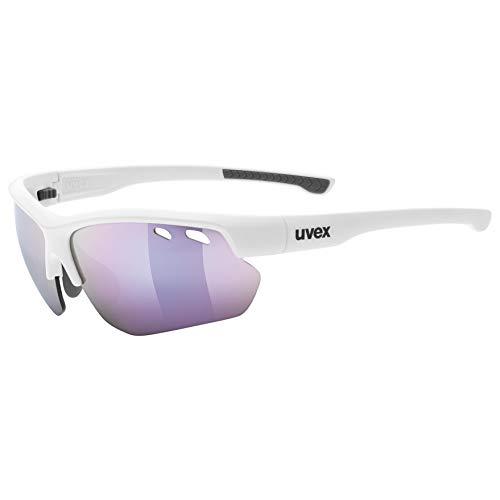 Uvex Erwachsene Sportstyle 115 Sportbrille, White, One Size