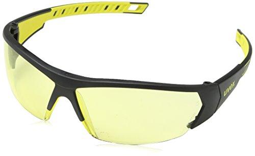 Uvex I-Works Schutzbrille – Suprav. Excellence – Schw.-Gelb/Gelb