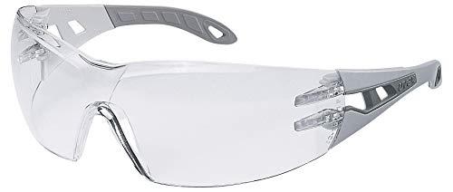 Uvex Pheos Schutzbrille – Supravision Excellence – Transparent/Grau