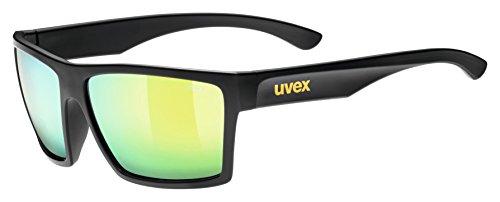 Uvex Sonnebrille lgl 29 Sportbrille, Black mat, One Size