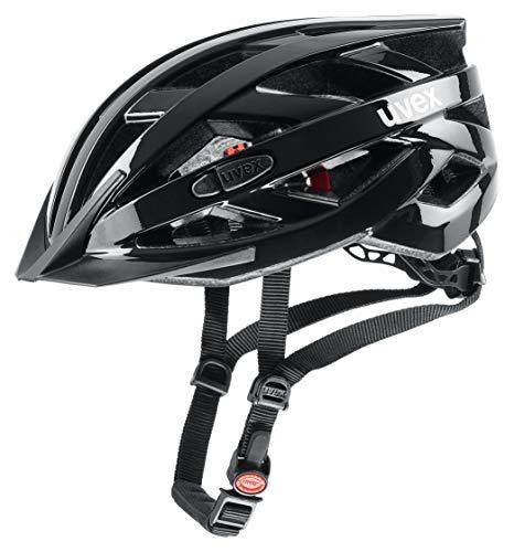 Uvex i-vo 3D Fahrradhelm, black, 56-60 cm