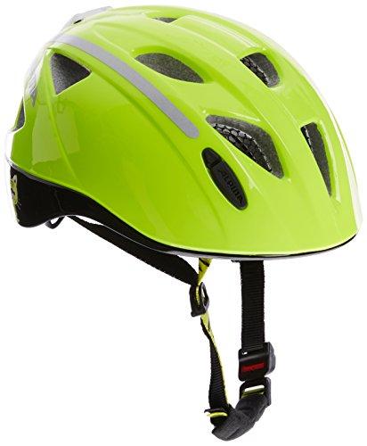 Alpina Kinder Radhelm Ximo Flash Fahrradhelm, be visible reflectiv, 47-51 cm
