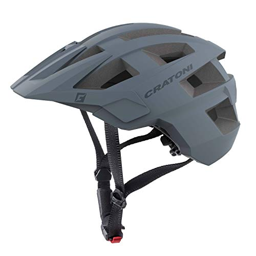 Cratoni Mountainbike Helm AllSet, Grey Matt, Gr. M-L (58-61cm)