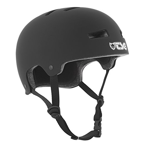 TSG Helm Evolution Solid Color, Schwarz (satin black), L/XL, 75046