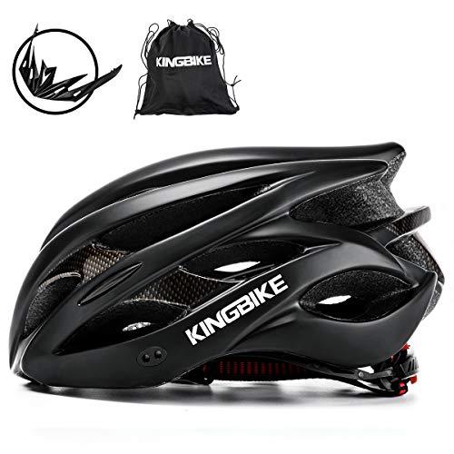 KING BIKE Fahrradhelm Helm Bike Fahrrad Radhelm FüR Herren Damen Helmet Auf Die Helme Sportartikel Fahrradhelme GmbH RennräDer Mountain Schale Mountainbike MTB