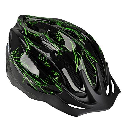 Fischer Fahrradhelm Arrow grün/Schwarz, L