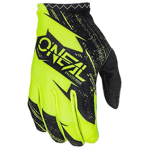 O'Neal Matrix Kinder MX Handschuhe Burnout Motocross DH Downhill Enduro Offroad Mountain Bike, 0388R-1, Farbe Gelb, Größe L