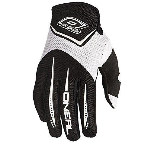 O'Neal Element MX DH Handschuhe Weiß Moto Cross Mountain Bike Downhill Motorrad Glove, 0399-2, Größe Large