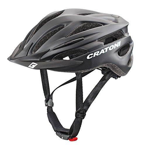 Cratoni Pacer+ Fahrradhelm, Black Matt, L-XL