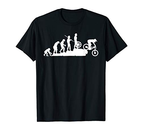 Evolution Downhill Mountain Bike MTB Mountain Biking T Shirt T-Shirt