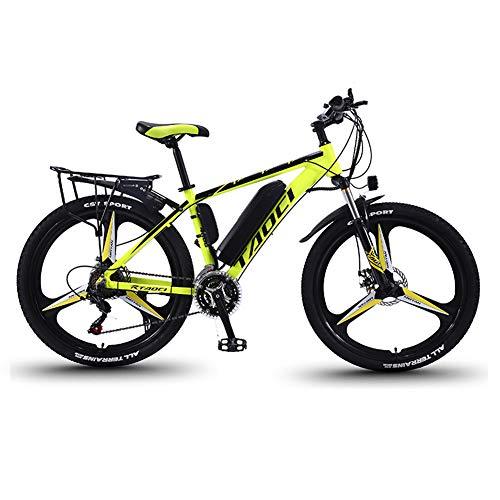 Elektrische Fahrräder Für Erwachsene, Herren-Mountainbike, Magnesium-Legierung Ebikes Fahrräder All Terrain, 26