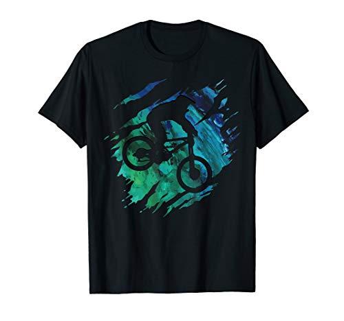 Downhill Shirt – Mountainbike MTB T-Shirt Geschenk T-Shirt