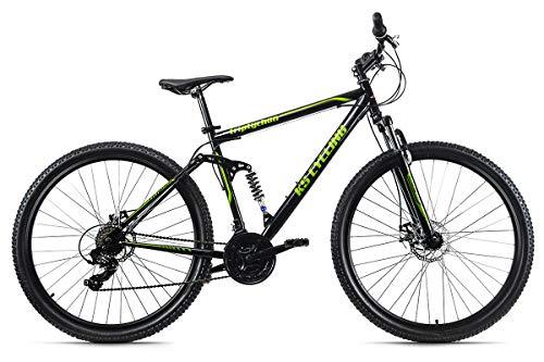 KS Cycling Mountainbike MTB Fully 29'' Triptychon schwarz RH 51 cm