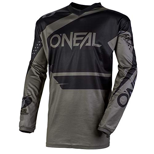 O'NEAL Element Racewear FR Jersey Trikot lang grau/schwarz 2020 Oneal: Größe: XL (56/58)