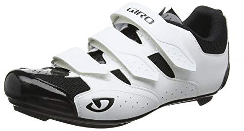 Giro Unisex Techne Road Radsportschuhe-Rennrad, Mehrfarbig (White/Black 000), 40 EU