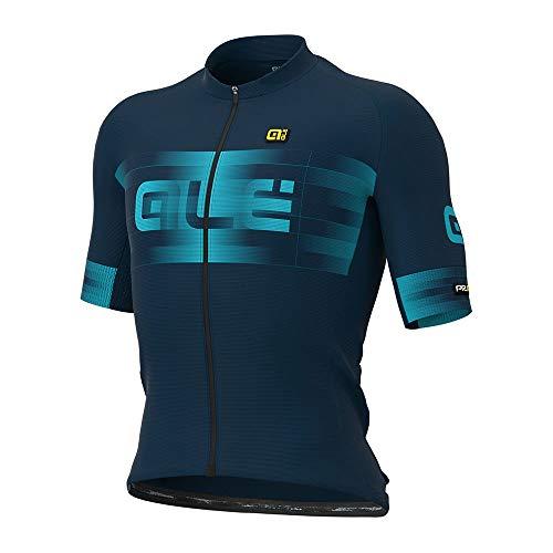 Alé Cycling Graphics PRR Scalata Kurzarm Trikot Herren Blue/Light Blue Größe L 2021 Radtrikot kurzärmlig