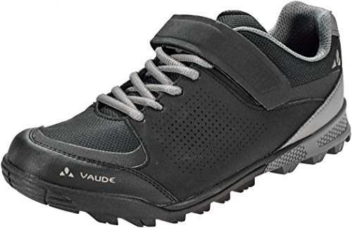 VAUDE Unisex AM Downieville Low Mountainbike Schuhe, Black, 43 EU