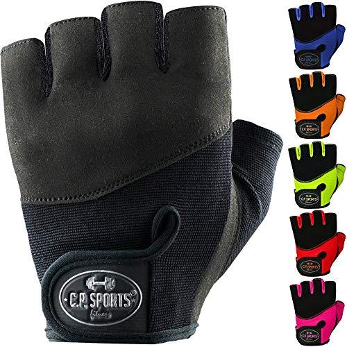 C.P. Sports Iron-Handschuh Komfort farbig Trainingshandschuh Fitness Handschuhe für Damen und Herren, Fitnesshandschuh, Krafttraining, Bodybuilding