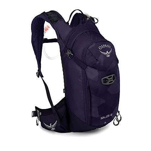 Osprey Salida 12 Trinkrucksack für Frauen, mit Hydraulics™ LT 2,5-Liter-Trinkblase – Violet Pedals (O/S)