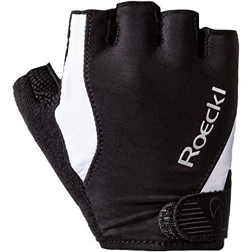 Roeckl Basel Fahrrad Handschuhe kurz schwarz/weiß 2020: Größe: 9.5