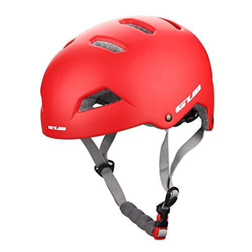 JM- Trägt im Freien kletternden Bergsteigengleichgewichtauto-Sturzhelm-Schutzausrüstung männlichen Mountainbike-Sturzhelmreithelm zur Schau (Color : G, Size : L)