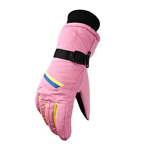 HEETEY Mode Handschuh Frauen warm halten winter bergsteigen wasserdicht motorrad fahren ski handschuhe Touchscreen Radhandschuhe Winddicht Trainingshandschuhe-Radsporthandschuhe für Damen und Herren