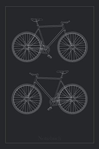 Notizbuch Fahrrad | Rennrad, Trekkingfahrrad, Rad für Fahrradfahrer Radfahrer zum eintragen von Touren und weiteren Notizen | A5, 120 Seiten, liniert: … Nutzung als Tourenbuch zum selber schreiben