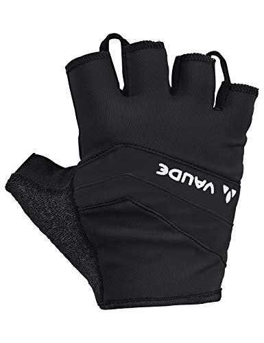 VAUDE Herren Active Gloves Kurzfinger-Radhandschuh, black uni, 9, 044820510900