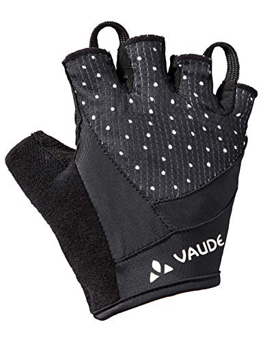 VAUDE Damen Advanced Gloves II Kurzfinger-Radhandschuh, black, 8, 413770100800