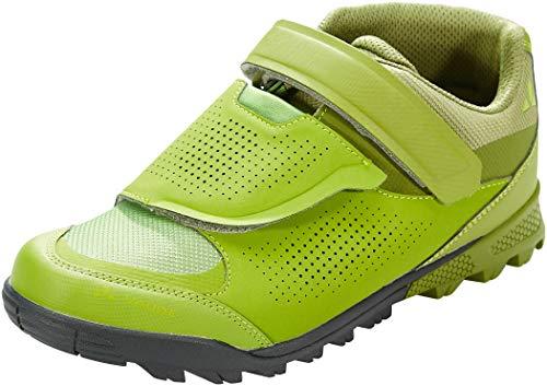 VAUDE Unisex AM Downieville Mid Mountainbike Schuhe, Holly Green/Green Pepper, 40 EU