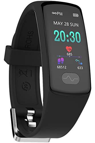 Fitness Uhr Smartwatch Unisex Sportuhr Pulsuhr Herzfrequenz Schlafüberwachung Blutdruck Schrittzähler IP67 Wasserdicht Damen Herren Fahrrad Armbanduhur Männer IOS Android