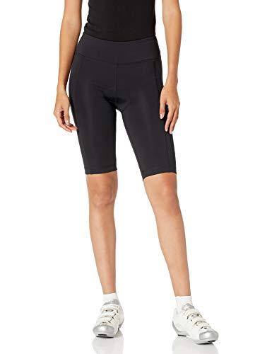 Amazon Essentials Längere Radhose Shorts, Schwarz, M