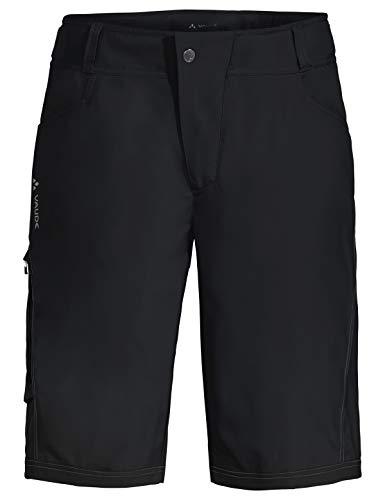 VAUDE Herren Hose Ledro Shorts für den Radsport elastisch, black, 52, 414400105400