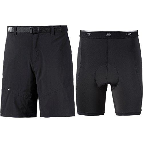 Gonso Herren Arico Shorts, schwarz, L