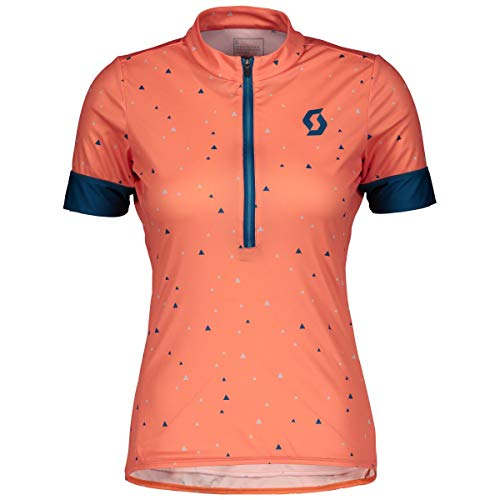 Scott Endurance 20 Damen Fahrrad Trikot kurz Coral rot 2019: Größe: M (38/40)