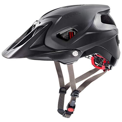 Uvex Unisex– Erwachsene, quatro integrale Fahrradhelm, black mat, 56-61 cm