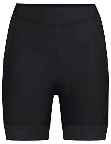 VAUDE Damen Advanced Shorts III Radhose mit funktionellem Sitzpolster, black, 38, 413670100380