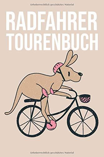Radfahrer Tourenbuch: Tourenbuch und Tagebuch für Fahrradfahrer und Biker mit einem E-Bike, MTB oder Trekkingrad – Platz für 50 Radwege