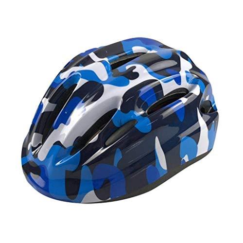 Urban Fahrradhelm für Kinder Jungen Radhelm Schutzhelm Helm für Outdoor Radfahren Skateboard Roller Inlineskaten Schutzausrüstung Kinderfahrradhelm (E)