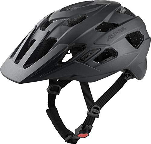 Alpina Unisex– Erwachsene ANZANA Fahrradhelm, Black matt, 57-61 cm