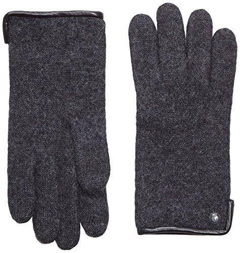 Roeckl Damen Original Walkhandschuh Handschuhe, Schwarz (Anthracite 090), 7