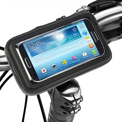 wortek Universal Fahrrad Halterung Apple iPhone 6 Plus/Samsung Galaxy Note 4 mit Kugelgelenk 360 Grad drehbar für alle Lenker