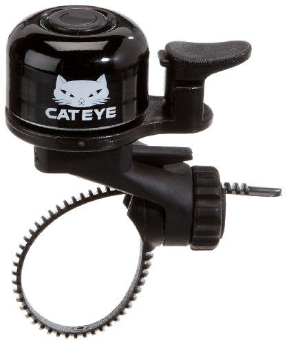 Cateye Oh-1100 Fee Band Bell Fahrradklingel, schwarz, one Size