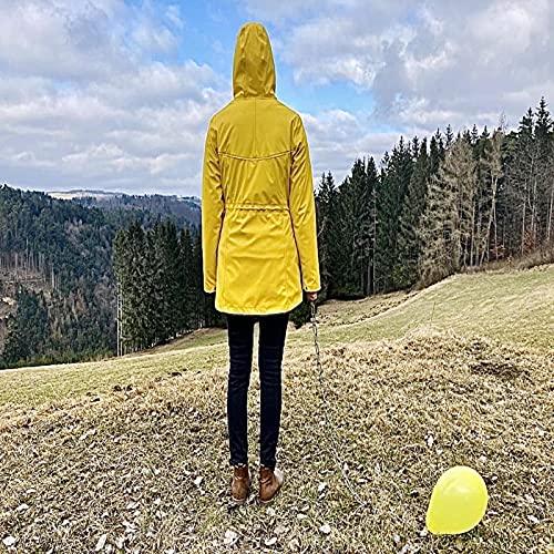 Knallig gelbes Damenfahrrad