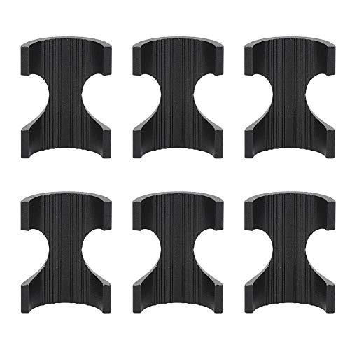 VGEBY 6-teiliger Lenkerdurchmesser der Fahrradreduzierungshülse Verringern Sie 31,8 bis 25,4 für Rennradlenker mit verdicktem Futter